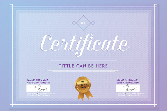 school certificate template design1
