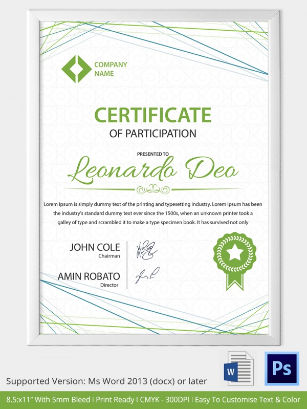 School Certificate Templates 22 Download Documents in PSD PDF – Editable Certificate Templates