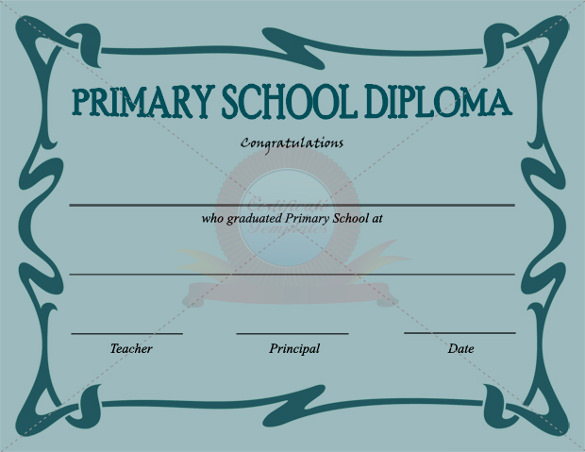primary school certificate template1