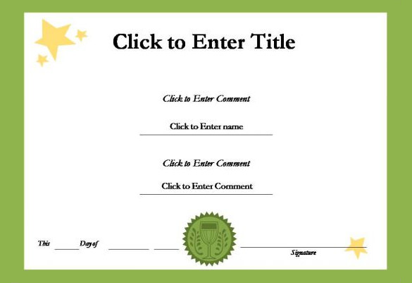 School certificate templates 22 download documents in for Speech contest certificate template
