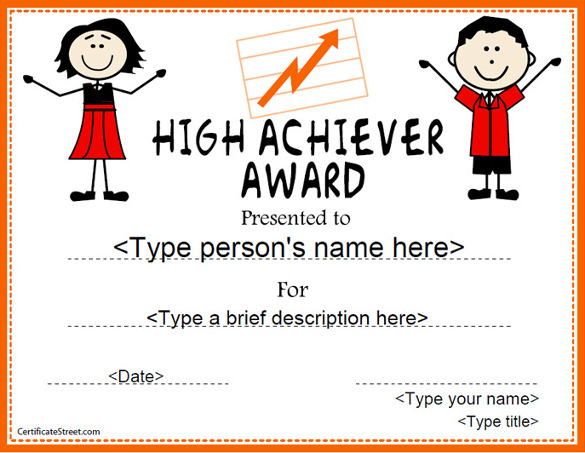 high achiever award1