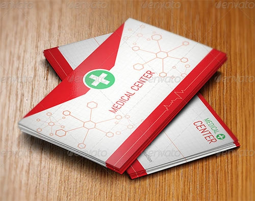 21 awesome business card template for doctors sample templates creative business cards for doctors cheaphphosting Gallery