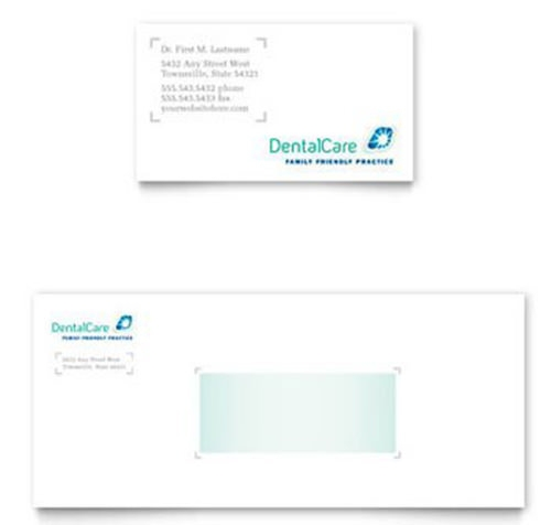 dental card business template