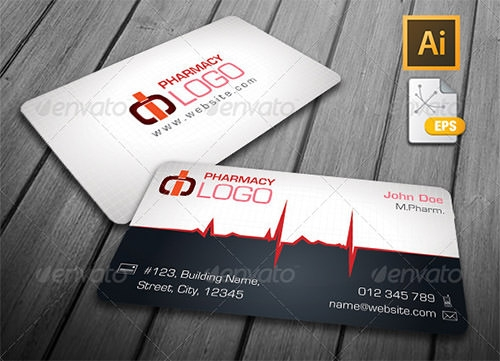 14 Awesome Business Card Template for Doctors – Medical Business Card Templates