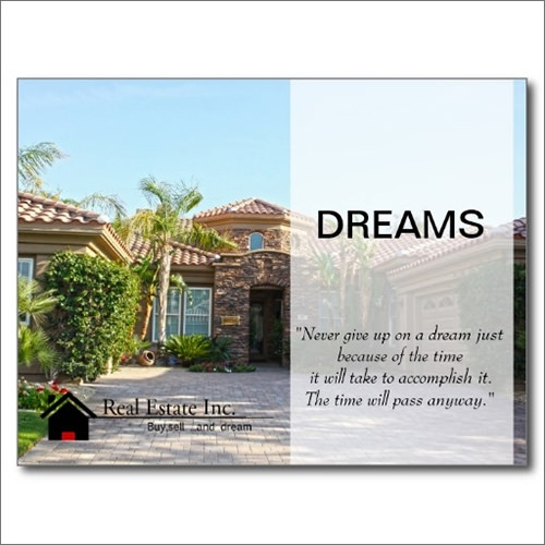 real estate just sold flyer templates - real estate marketing postcards samples