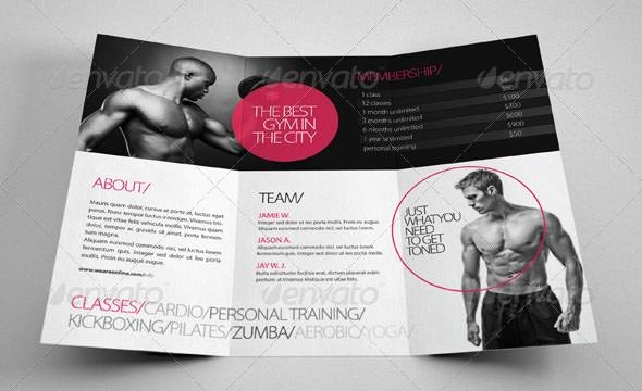 17 Best Gym Brochure Templates Download Documents in PSD – Fitness Brochure Template
