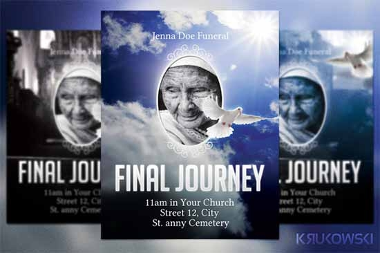 33+ Sample Funeral Programs Templates | Sample Templates