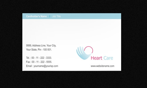 Heart Care Hospital Template