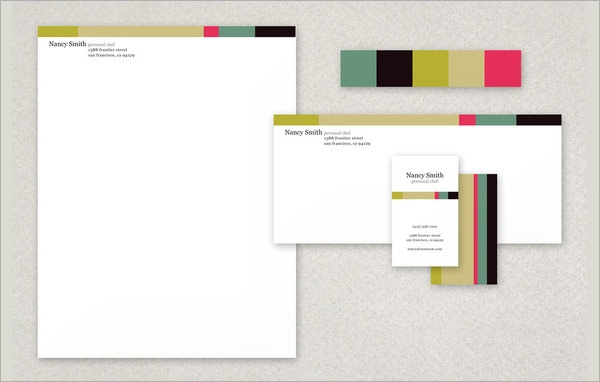 sample stationery templates for designers 16 download documents