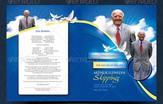 Sample Funeral Program Template   Download Free Documents In Pdf