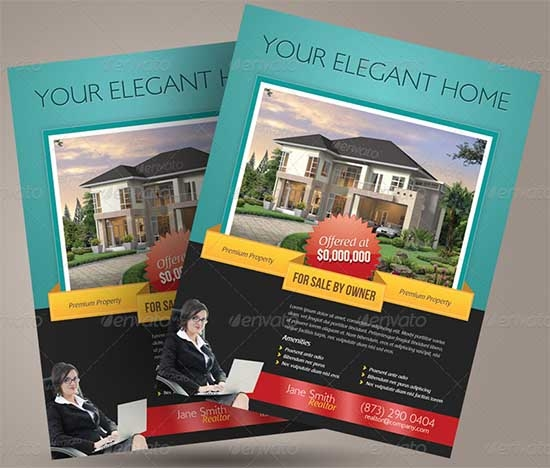 fsbo flyer template pike productoseb co