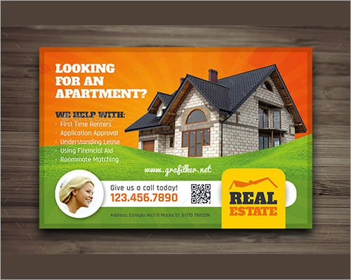 Sample Real Estate Marketing Postcard Templates – Real Estate Marketing Postcard Templates
