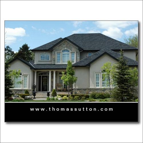 real estate postcard beige stucco house1