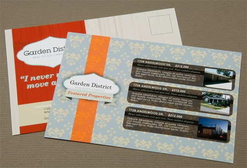 Post Card Templates | Sample Real Estate Marketing Postcard Templates