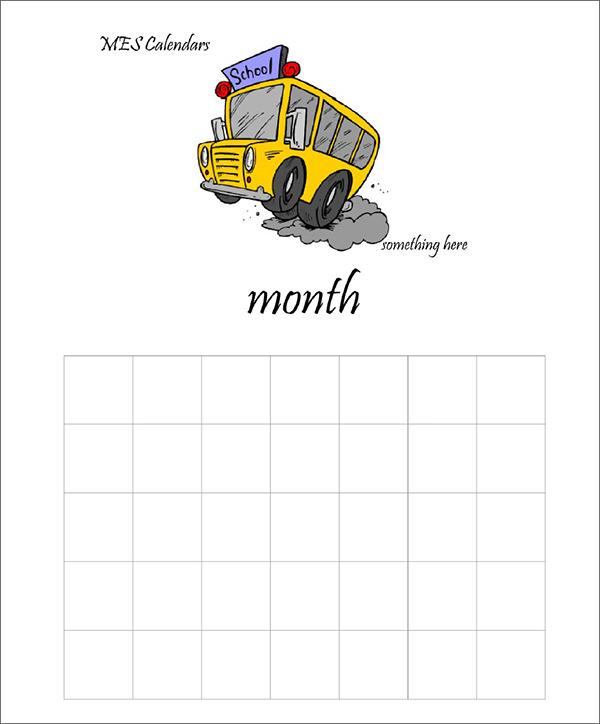school calendar maker