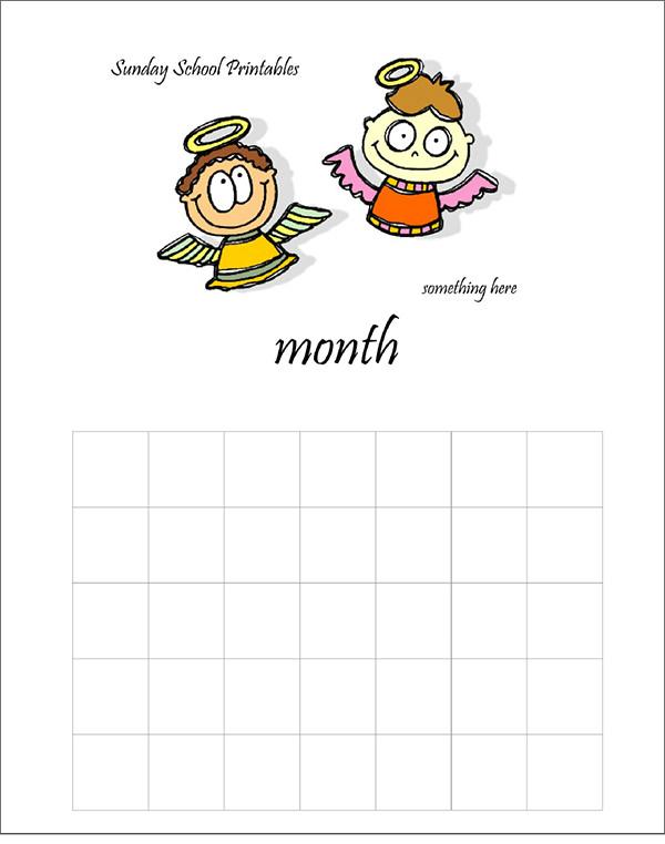 school printable calendar