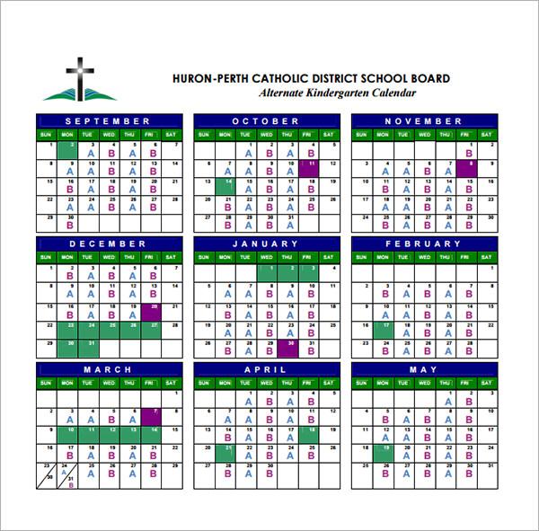 Kindergarten Calendar Smartboard : Calendar templates for kindergarten