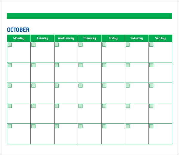 Kindergarten Calendar Smartboard : Sample calendar templates for kindergarten