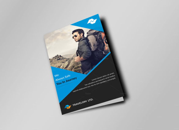 27 best travel brochure templates sample templates for Corporate bi fold brochure template