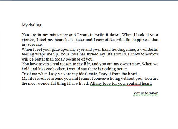 Break Letters Samples For Boyfriends sample breakup letter – Love Letter Samples for Him
