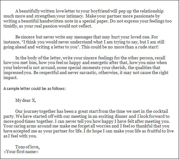 how to write a love letter Give it at least an hour strike a balance between poesy and mundane description.