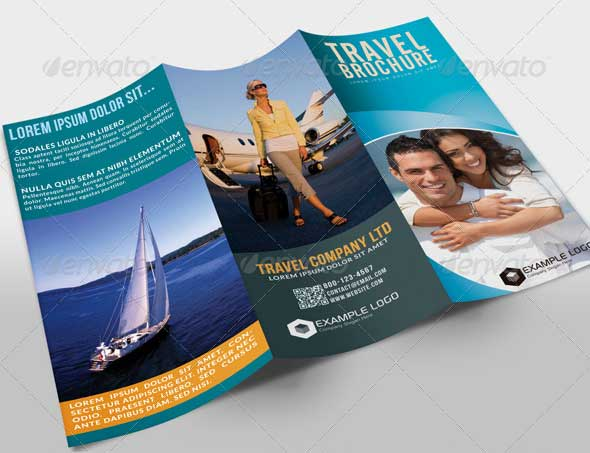 27 best travel brochure templates sample templates for Cruise brochure template