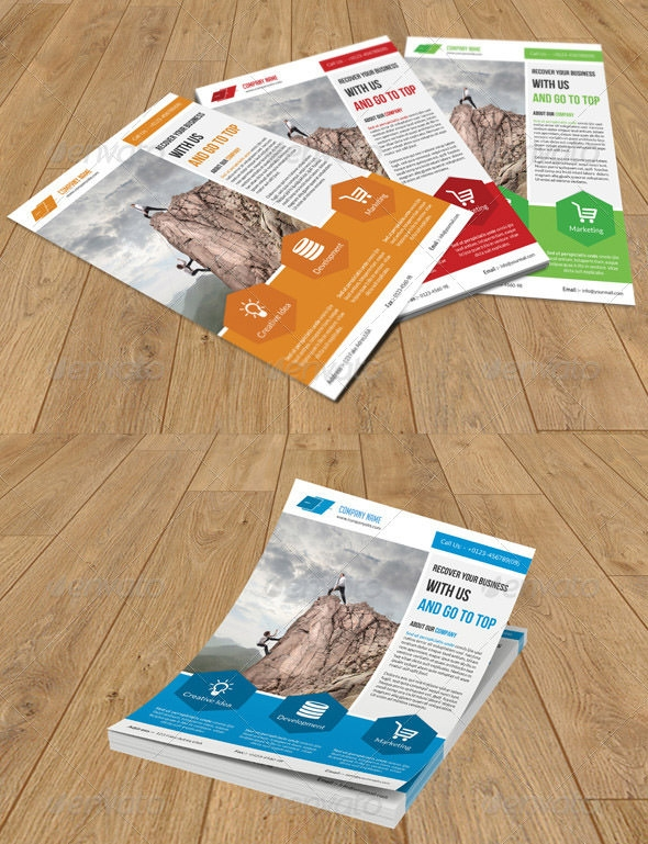FREE 41+ Awesome Business Flyer Templates in AI InDesign Pages AI InDesign MS Word