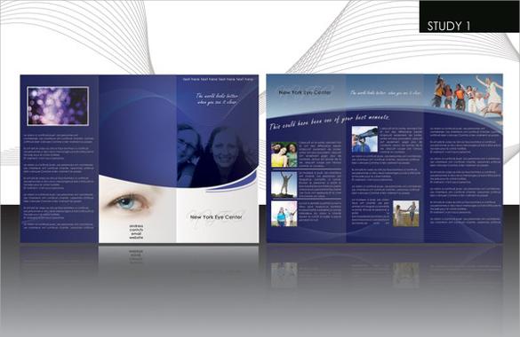 psd format company brochure