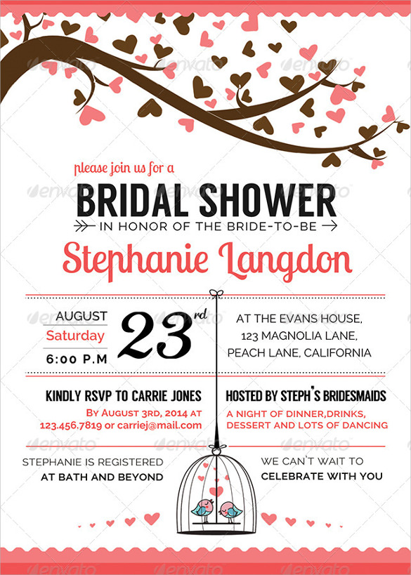 Tea Party Themed Bridal Shower Invitations as luxury invitation design