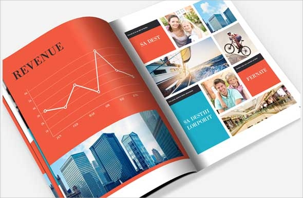 corporate company brochure