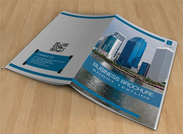 bifold corporate company brochure