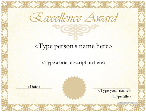 Award Certificate Template 14 Download in PSD PDF – Best Employee Certificate Sample
