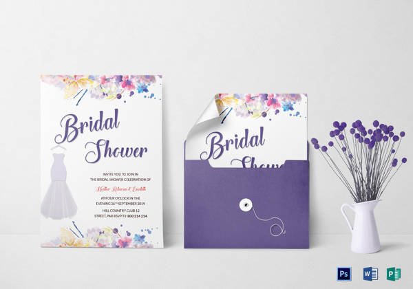 bridal shower invitation template2