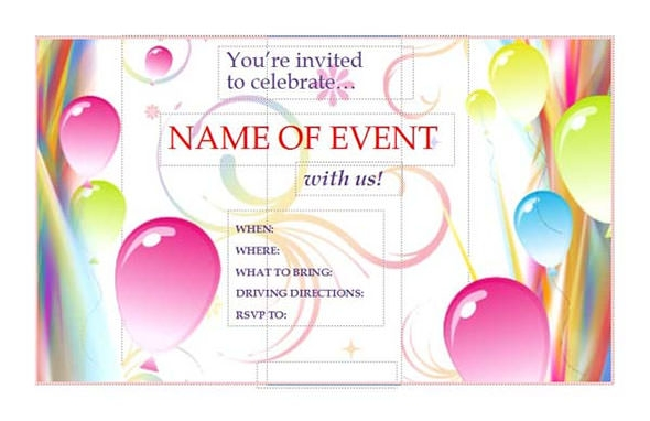 14 event flyer templates sample templates