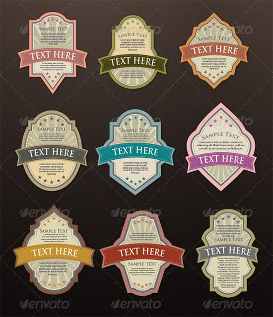 12 Awesome Printable Label Templates | Sample Templates