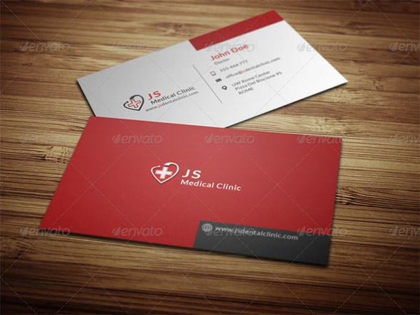 17  medical business card templates