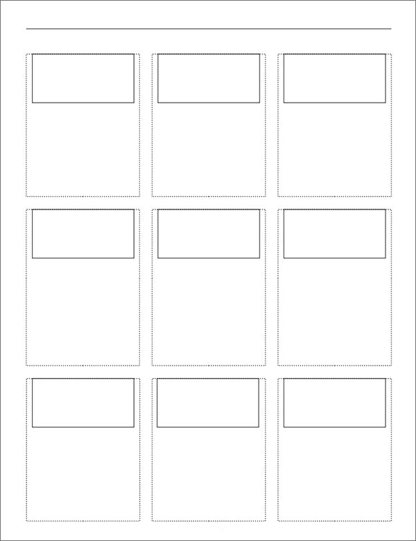 printable storyboard with 3x3 grid1