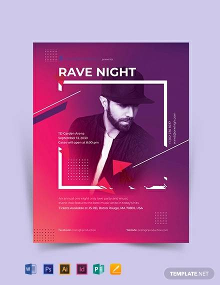 rave event