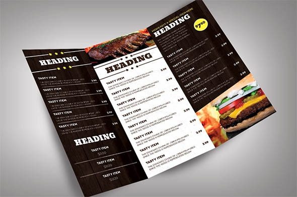 restaurant menu modern restaurant menu design - Restaurant Menu Design Ideas