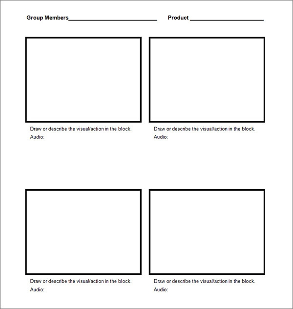 Story Board Template Download