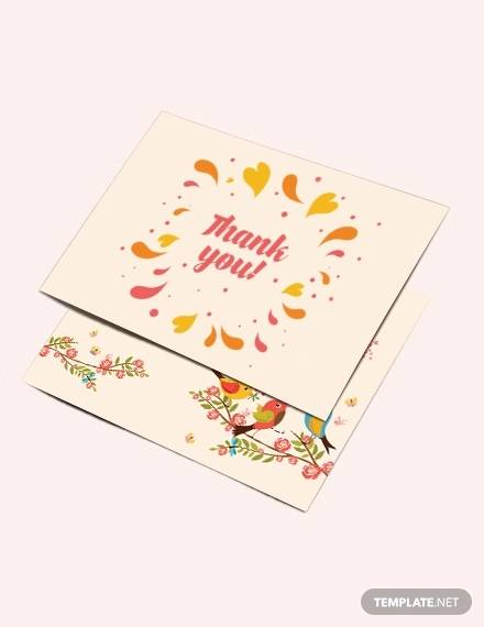 thank you greeting card template1