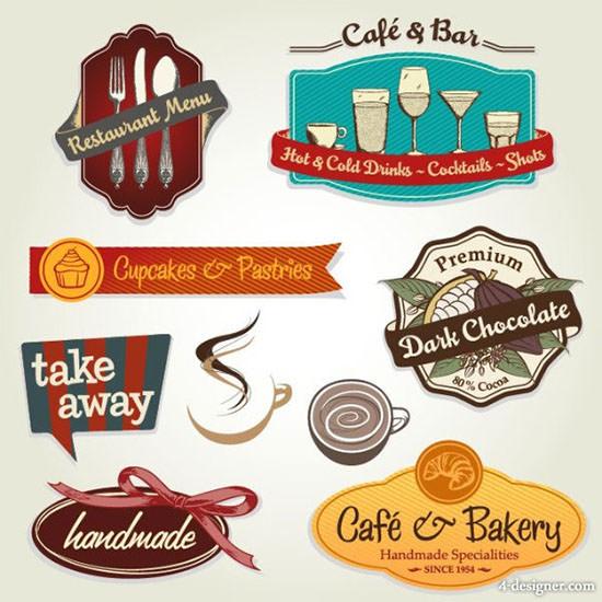 the menu restaurant label