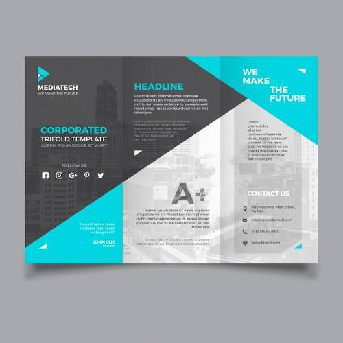 Free 18 Tri Fold Brochure Templates In Psd