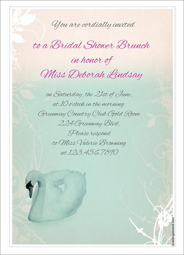 25  bridal shower invitation templates
