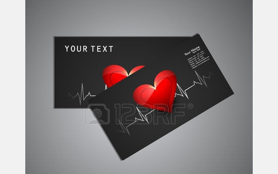 beautiful medical business card