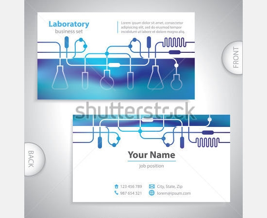 Sample Medical Business Card Template   Documents Download In Psd