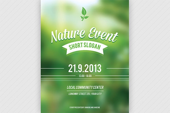 Event Flyer Template - 14+ Download Documents in PSD , PDF