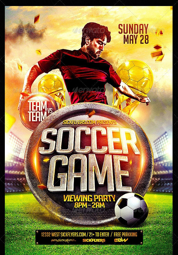 25 Best Free and Premium PSD Flyer Templates – Sports Flyers Templates Free