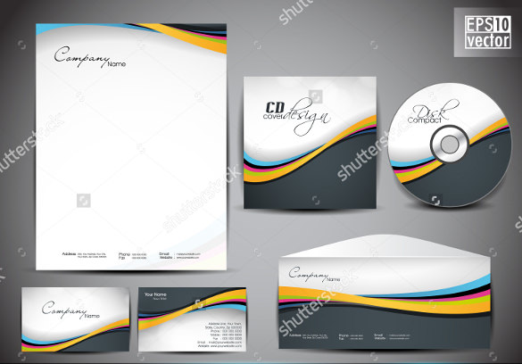 professional corporate identity kit 2