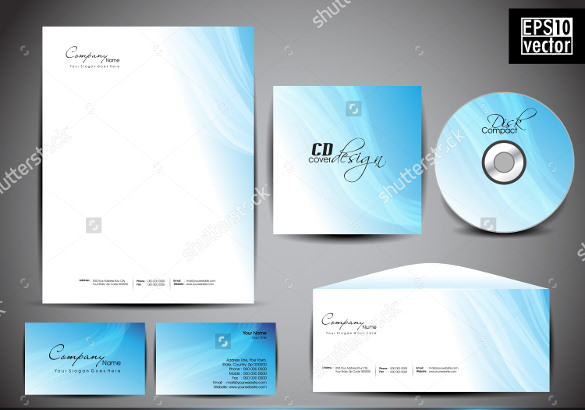 professional corporate identity kit download
